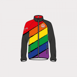 Teamjacke Rainbow Unisex