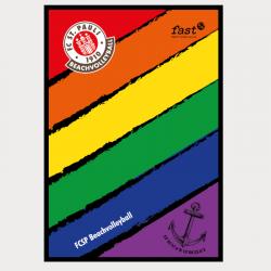 Handtuch S Rainbow 65x37 cm